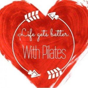 Pilates Love heart